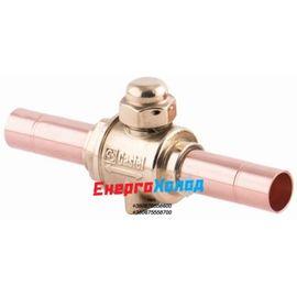 Кульовий вентиль для газової магістралі Castel 6570/2 (6590/2)