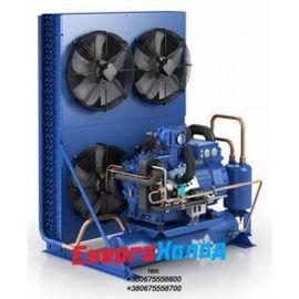 Компрессорно-конденсаторный агрегат с двухступенчатым компрессорам GEA Bock SHGZX7/2110-4L (14629)