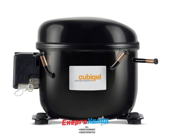 CUBIGEL GP16FB  (16,15 cм³ R134a, LBP) ГЕРМЕТИЧНИЙ ПОРШНЕВИЙ КОМПРЕСОР